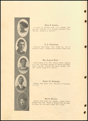 Page 14, 1911 Edition, Antigo High School - Hi Light Yearbook (Antigo, WI) online yearbook collection