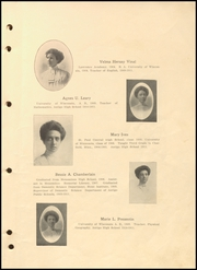 Page 15, 1911 Edition, Antigo High School - Hi Light Yearbook (Antigo, WI) online yearbook collection