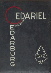 1957 Edition, Cedarburg High School - Cedariel Yearbook (Cedarburg, WI)