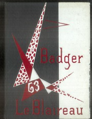 1963 Edition, Badger High School - Le Blaireau Yearbook (Lake Geneva, WI)