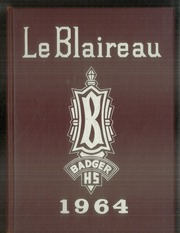 1964 Edition, Badger High School - Le Blaireau Yearbook (Lake Geneva, WI)