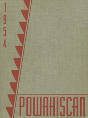 1954 Edition, Port Washington High School - Powahiscan Yearbook (Port Washington, WI)