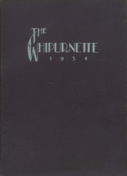 Page 1, 1934 Edition, Marinette High School - Whipurnette Yearbook (Marinette, WI) online yearbook collection