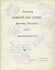 Page 5, 1957 Edition, Marinette High School - Whipurnette Yearbook (Marinette, WI) online yearbook collection