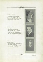 Page 15, 1924 Edition, Menomonee Falls High School - Periscope Yearbook (Menomonee Falls, WI) online yearbook collection