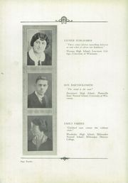 Page 16, 1924 Edition, Menomonee Falls High School - Periscope Yearbook (Menomonee Falls, WI) online yearbook collection