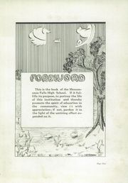 Page 7, 1924 Edition, Menomonee Falls High School - Periscope Yearbook (Menomonee Falls, WI) online yearbook collection