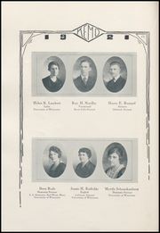 Page 12, 1921 Edition, Merrill High School - Kemo Yearbook (Merrill, WI) online yearbook collection