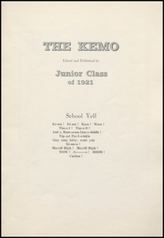 Page 5, 1921 Edition, Merrill High School - Kemo Yearbook (Merrill, WI) online yearbook collection