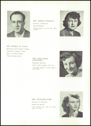 Page 15, 1951 Edition, Wilmot Union High School - Panther Yearbook (Wilmot, WI) online yearbook collection