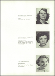 Page 17, 1951 Edition, Wilmot Union High School - Panther Yearbook (Wilmot, WI) online yearbook collection