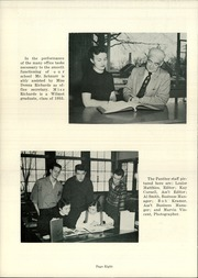 Page 12, 1958 Edition, Wilmot Union High School - Panther Yearbook (Wilmot, WI) online yearbook collection
