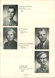 Page 15, 1958 Edition, Wilmot Union High School - Panther Yearbook (Wilmot, WI) online yearbook collection