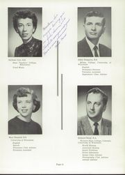 Page 15, 1960 Edition, Wilmot Union High School - Panther Yearbook (Wilmot, WI) online yearbook collection