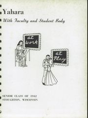 Page 5, 1942 Edition, Stoughton High School - Yahara Yearbook (Stoughton, WI) online yearbook collection