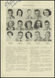 Page 16, 1947 Edition, Stoughton High School - Yahara Yearbook (Stoughton, WI) online yearbook collection