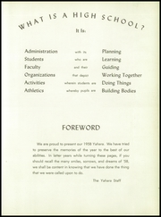 Page 7, 1958 Edition, Stoughton High School - Yahara Yearbook (Stoughton, WI) online yearbook collection