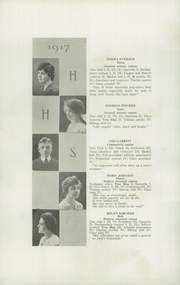 Page 10, 1917 Edition, Hudson High School - True Blue Yearbook (Hudson, WI) online yearbook collection