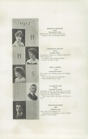 Page 11, 1917 Edition, Hudson High School - True Blue Yearbook (Hudson, WI) online yearbook collection