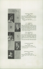 Page 12, 1917 Edition, Hudson High School - True Blue Yearbook (Hudson, WI) online yearbook collection