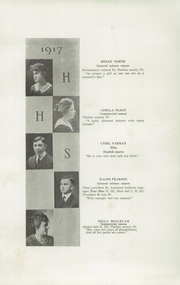 Page 13, 1917 Edition, Hudson High School - True Blue Yearbook (Hudson, WI) online yearbook collection