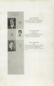 Page 15, 1917 Edition, Hudson High School - True Blue Yearbook (Hudson, WI) online yearbook collection