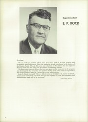Page 8, 1956 Edition, Hudson High School - True Blue Yearbook (Hudson, WI) online yearbook collection