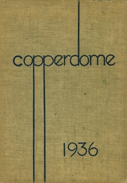 Page 1, 1936 Edition, Shorewood High School - Copperdome Yearbook (Shorewood, WI) online yearbook collection