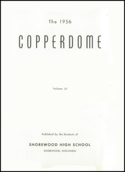 Page 7, 1956 Edition, Shorewood High School - Copperdome Yearbook (Shorewood, WI) online yearbook collection