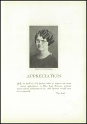 Page 9, 1929 Edition, Sparta High School - Spartan Yearbook (Sparta, WI) online yearbook collection