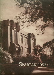 1953 Edition, Sparta High School - Spartan Yearbook (Sparta, WI)