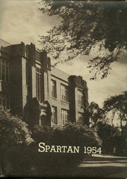 1954 Edition, Sparta High School - Spartan Yearbook (Sparta, WI)