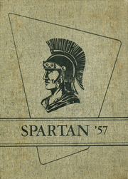 1957 Edition, Sparta High School - Spartan Yearbook (Sparta, WI)