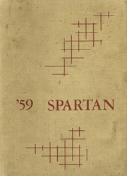1959 Edition, Sparta High School - Spartan Yearbook (Sparta, WI)