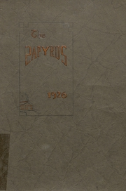 Page 1, 1926 Edition, Kaukauna High School - Papyrus Yearbook (Kaukauna, WI) online yearbook collection