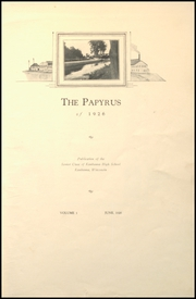 Page 7, 1926 Edition, Kaukauna High School - Papyrus Yearbook (Kaukauna, WI) online yearbook collection