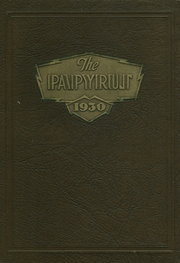 1930 Edition, Kaukauna High School - Papyrus Yearbook (Kaukauna, WI)