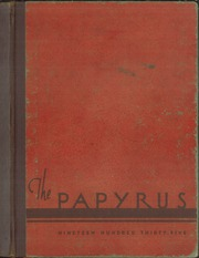 Page 1, 1935 Edition, Kaukauna High School - Papyrus Yearbook (Kaukauna, WI) online yearbook collection