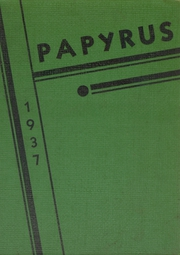 1937 Edition, Kaukauna High School - Papyrus Yearbook (Kaukauna, WI)