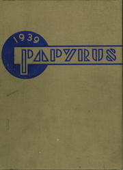 1939 Edition, Kaukauna High School - Papyrus Yearbook (Kaukauna, WI)