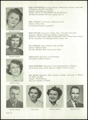 Page 14, 1950 Edition, Kaukauna High School - Papyrus Yearbook (Kaukauna, WI) online yearbook collection