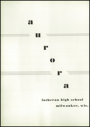 Page 10, 1940 Edition, Milwaukee Lutheran High School - Aurora Yearbook (Milwaukee, WI) online yearbook collection