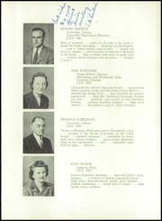 Page 13, 1943 Edition, Milwaukee Lutheran High School - Aurora Yearbook (Milwaukee, WI) online yearbook collection