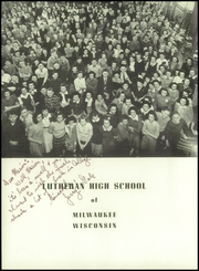 Page 8, 1943 Edition, Milwaukee Lutheran High School - Aurora Yearbook (Milwaukee, WI) online yearbook collection