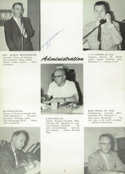 Page 12, 1960 Edition, Milwaukee Lutheran High School - Aurora Yearbook (Milwaukee, WI) online yearbook collection