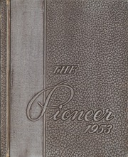Page 1, 1953 Edition, Solomon Juneau High School - Pioneer Yearbook (Milwaukee, WI) online yearbook collection