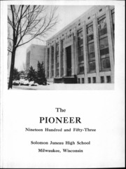Page 6, 1953 Edition, Solomon Juneau High School - Pioneer Yearbook (Milwaukee, WI) online yearbook collection