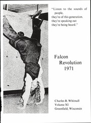 Page 5, 1971 Edition, Charles B Whitnall High School - Falcon Yearbook (Greenfield, WI) online yearbook collection