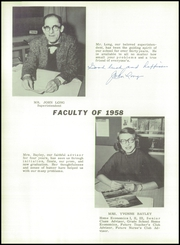 Page 10, 1958 Edition, Grafton High School - Blackhawk Yearbook (Grafton, WI) online yearbook collection