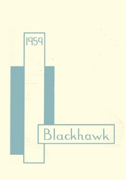 1959 Edition, Grafton High School - Blackhawk Yearbook (Grafton, WI)